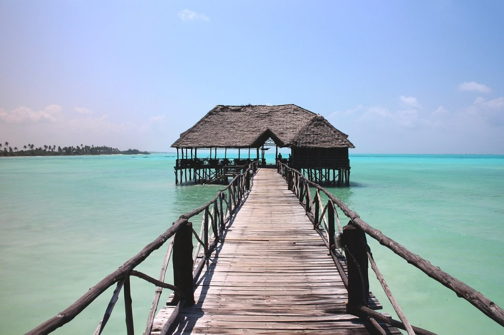 paradise, web, sea