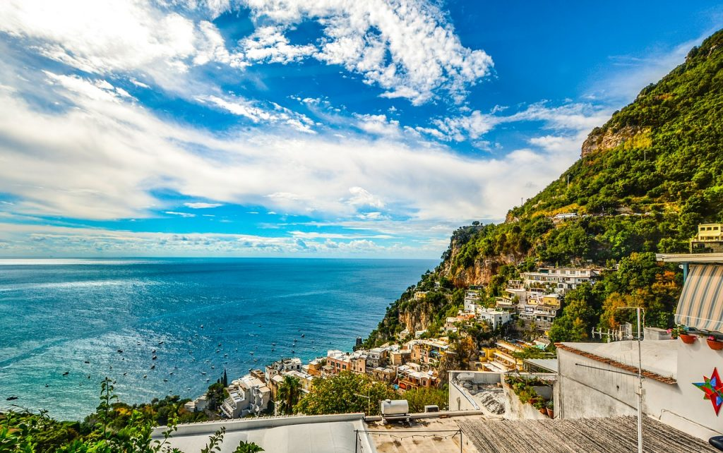 amalfi, coast, sorrento