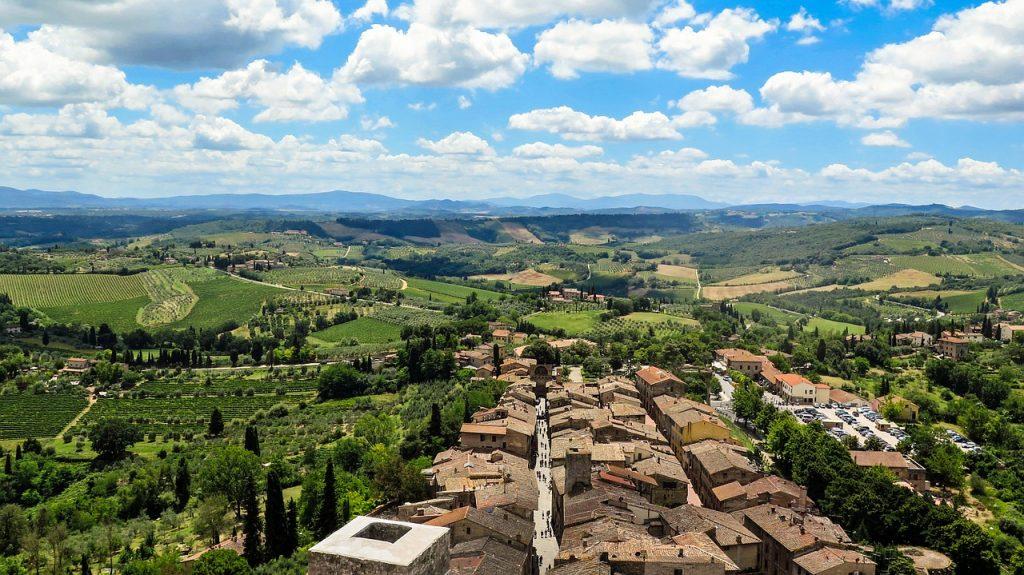 san gimignano, italy, tuscany